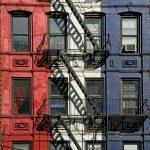 Tricolor wall, valokuva