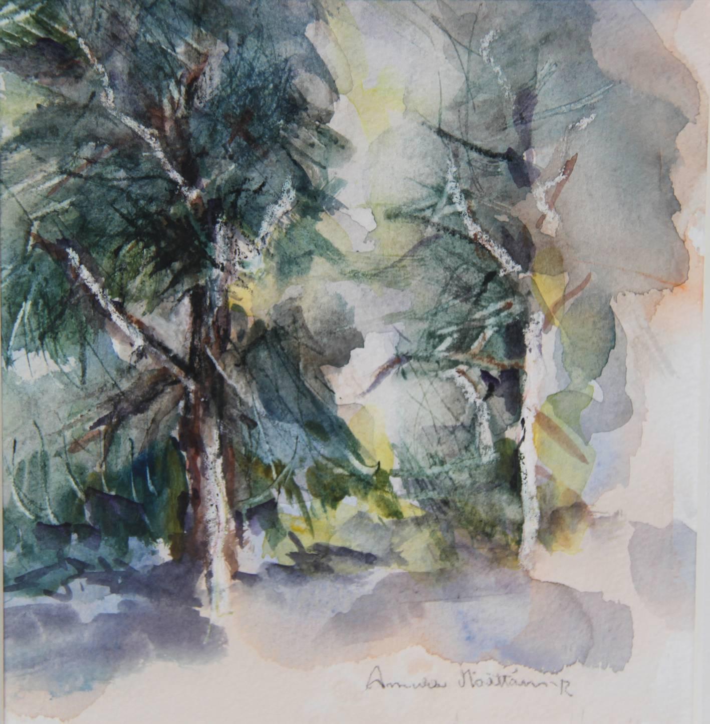 Kaksi kuusipuuta