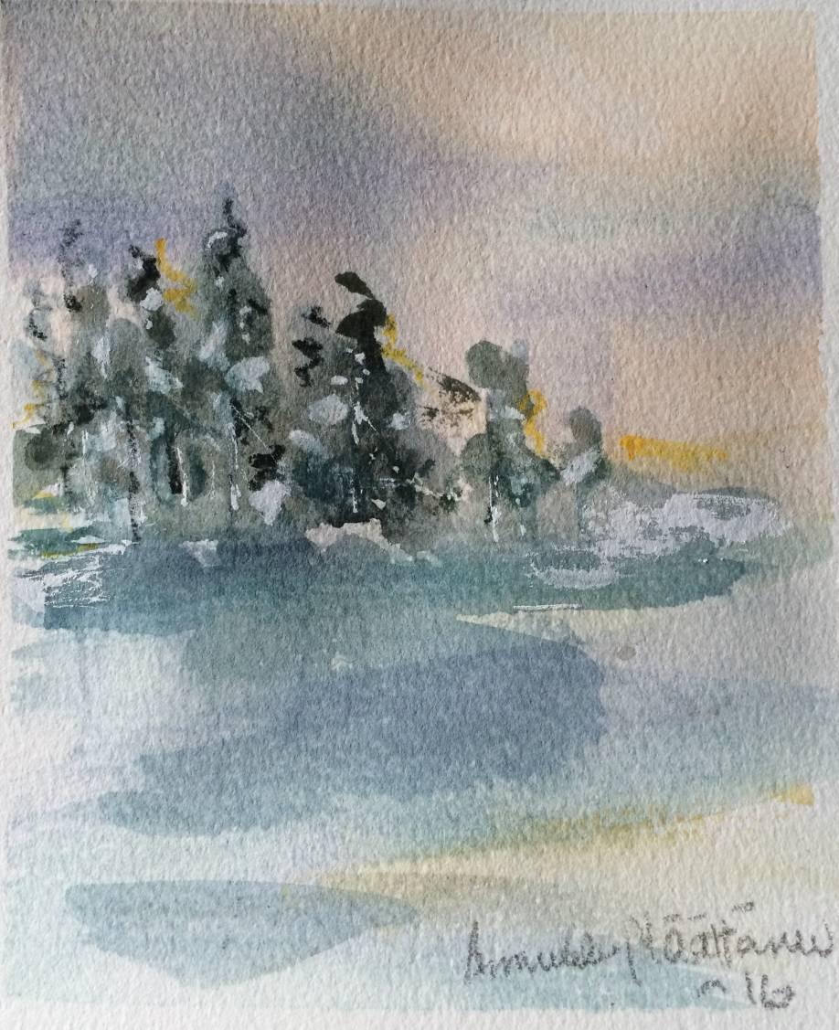Talven lumoissa