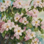 Omenanpuun kukat