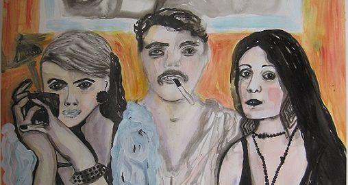 Bilehileet, 50 x 65 cm, akvarelli ja muste paperille, 2015