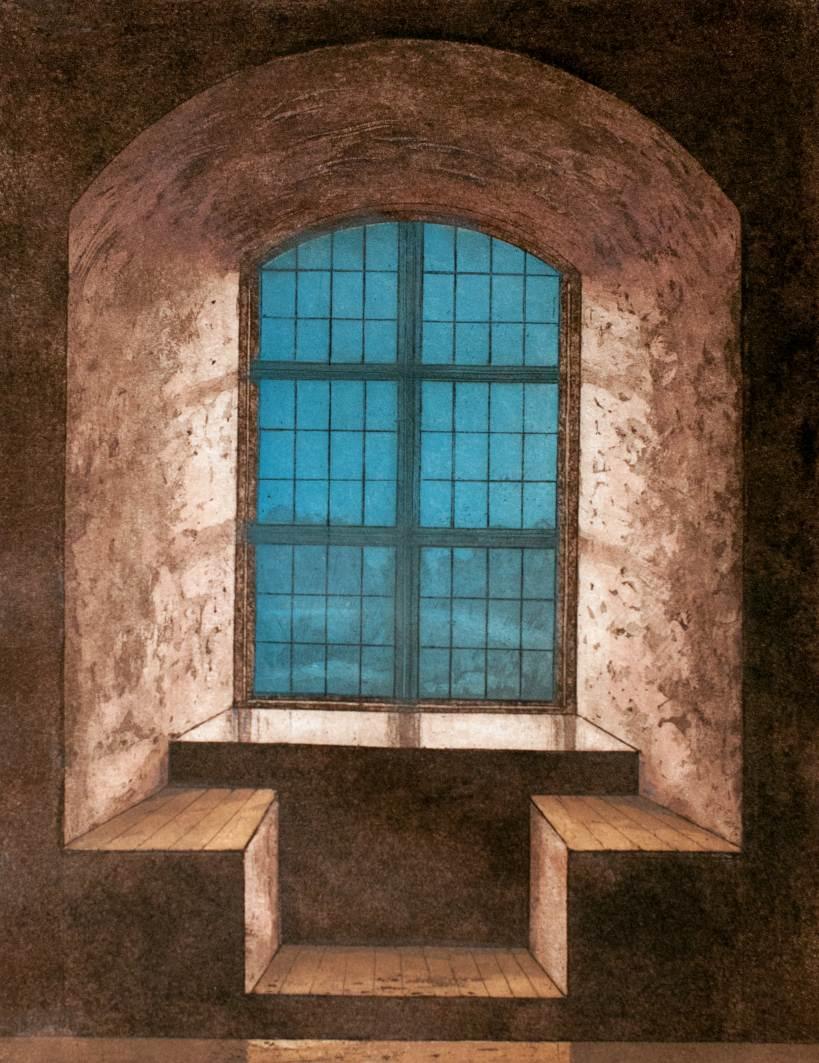 Ikkuna historiasta, etsaus akvatinta