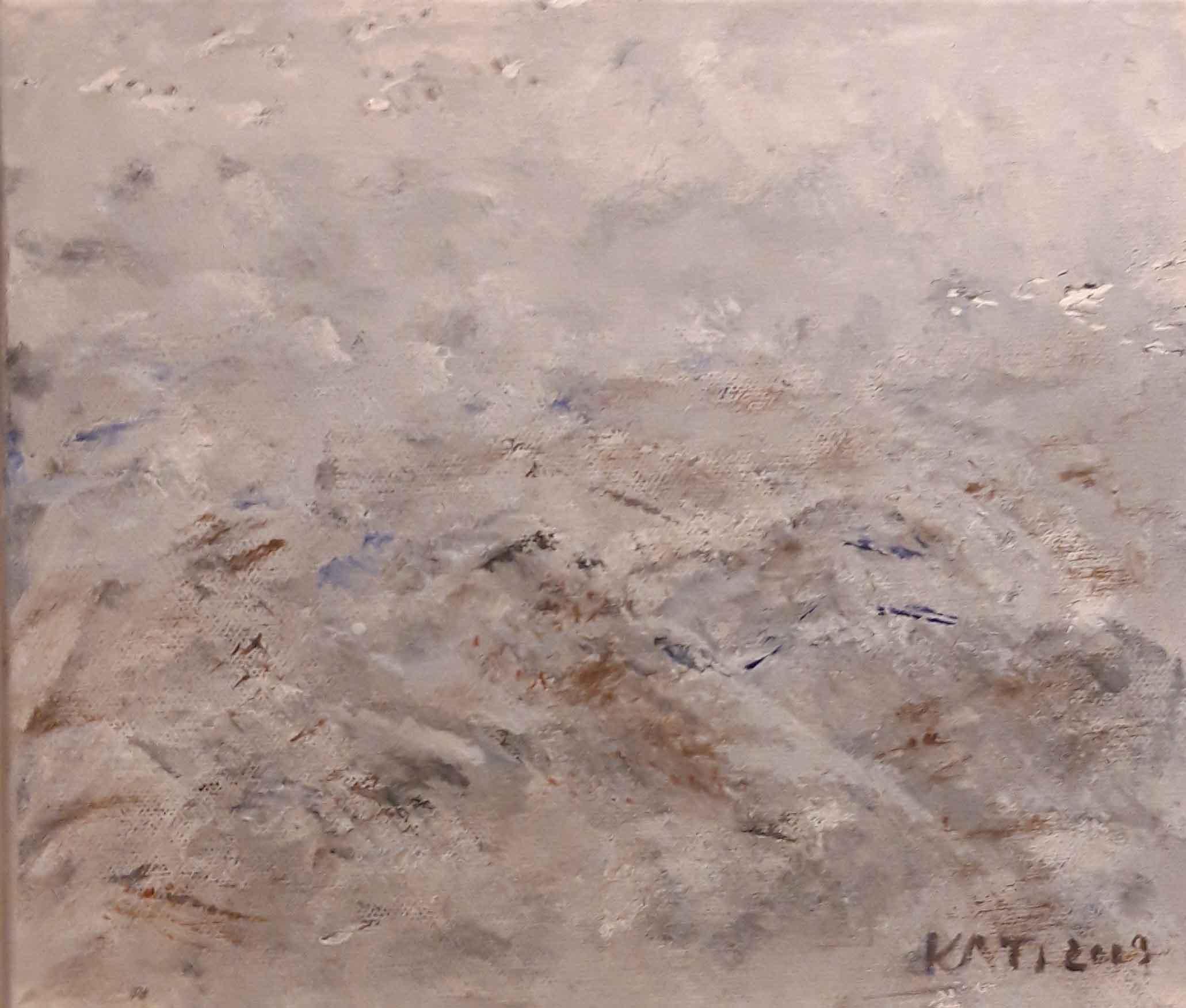 Matkalla 1 2019 Akryyli 25x30 cm