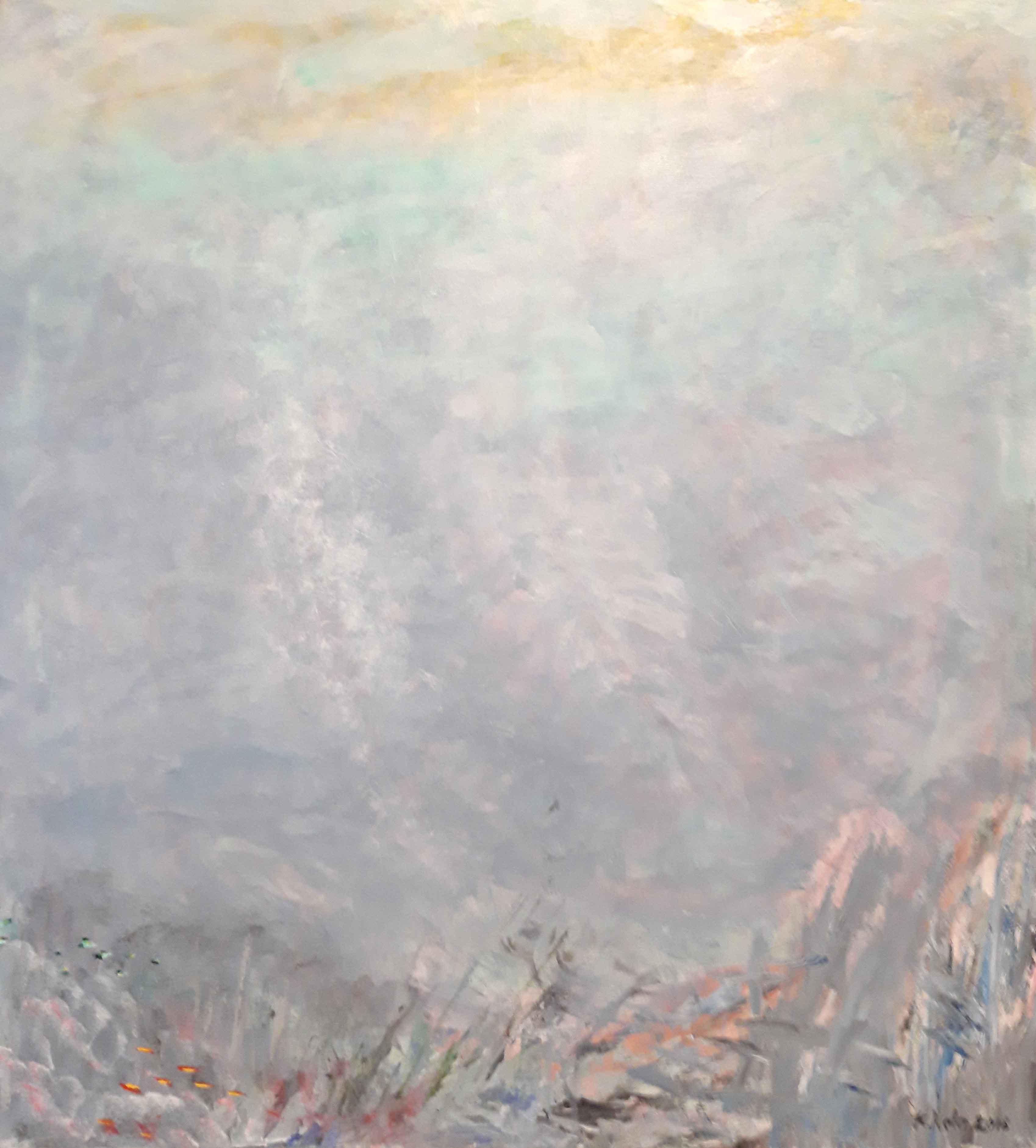 Syvällä Akryyli 2018 91 x 82 cm