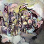 """Roudan alla"", 60x60cm, öljy mdf-levylle, 2017"