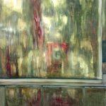 """""""Omakuva"""", 122x137cm, öljy kovalevylle, 2016 (yksityisomistuksessa)"""